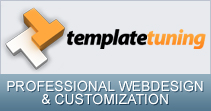 PROFESSIONAL WEBDESIGN & CUSTOMIZATION